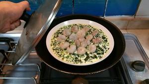 菠菜虾仁蒸蛋的做法 步骤20