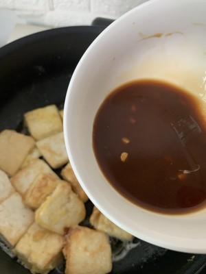 无敌好吃的香煎豆腐的做法 步骤6