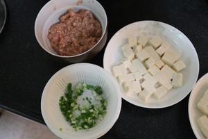 肉末蒸豆腐的做法 步骤2