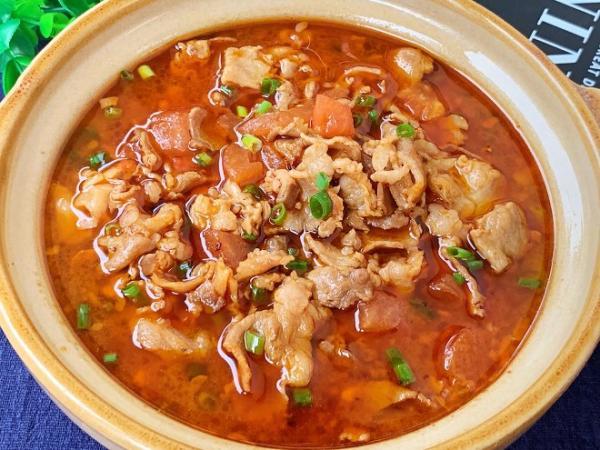 番茄肥牛汤的做法