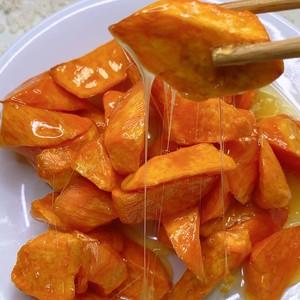 拔丝红薯的做法 步骤11
