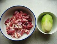 红烧羊肉萝卜的做法 步骤1