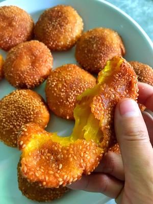 芝麻南瓜饼的做法 步骤12