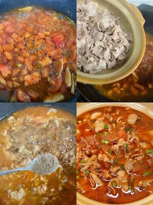 番茄肥牛汤的做法 步骤3
