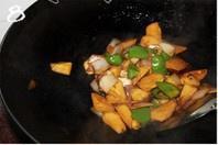 三杯杏鲍菇的做法 步骤8
