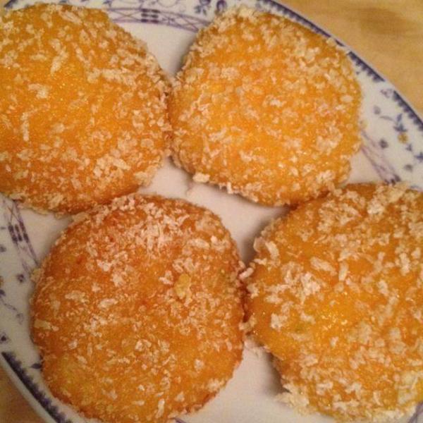 雪花南瓜饼的做法