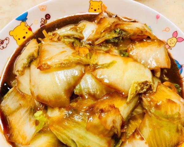绝对好吃的醋熘白菜的做法