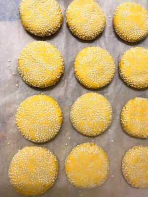 芝麻南瓜饼的做法 步骤9