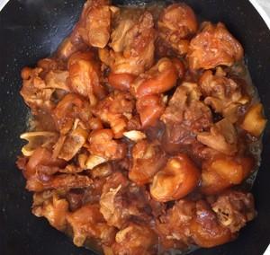 美味的家常菜:红烧猪蹄的做法 步骤12